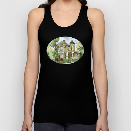 Victorian in The Avenues Unisex Tank Top