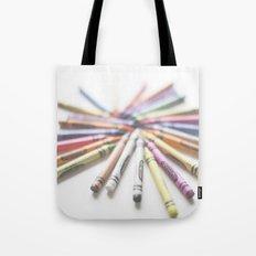 Crayon Love 2  Tote Bag
