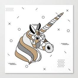Unicorn Chocolat Canvas Print