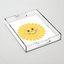 Sun and Moon Acrylic Tray