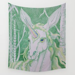 Unicorn Oracle 4: Chilli Wall Tapestry