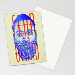 Fear the Beard Stationery Cards