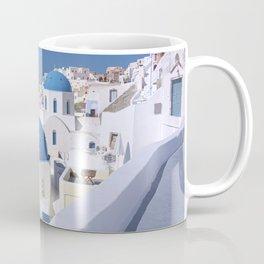 Oia Village in Santorini Coffee Mug