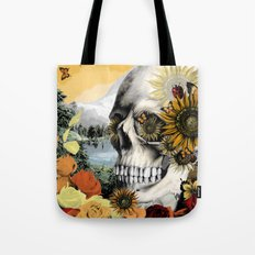 Reflections of Halloween Tote Bag