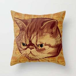 Fitzroy the Cat Throw Pillow