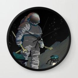 Recruitment Poster / Work The-Night Shift NASA Recruitment Poster Wall Clock