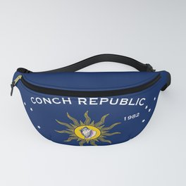 Conch Republic Flag Fanny Pack