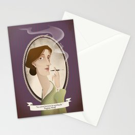 Virginia Woolf  said... Stationery Cards