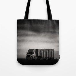 Charcoal Highway Tote Bag