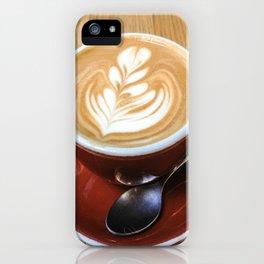 Stumptown Latte Art iPhone Case
