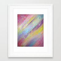 equality Framed Art Prints featuring EQUALITY by Valentinas Vanity Artwork