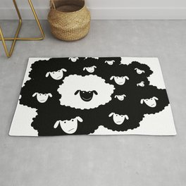 Black Sheep Rug