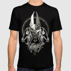 Malediction MEDIUM Mens Fitted Tee Black