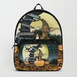 Pumpkin Gremlin Backpack