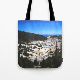 Bumpass Hell Pass Lassen Volcanic National Park Tote Bag