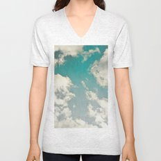 Clouds 026 Unisex V-Neck
