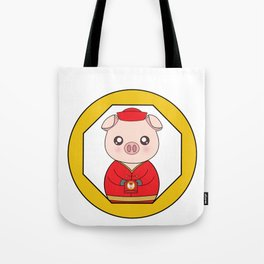 Chinese New Year Pig Tote Bag