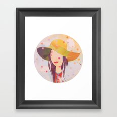 Picture Disc Framed Art Print