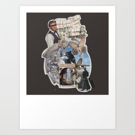 2017, the world as we know it. Art Print