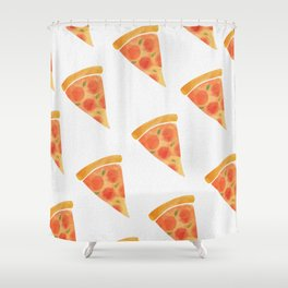 Pizza For Dayz Shower Curtain