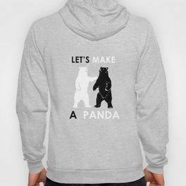 Let's Make A Panda Shirt Funny Polar Bear Black Bear Shirt Hoody