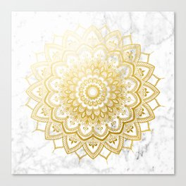 Pleasure Gold Canvas Print