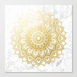 Pleasure Gold Canvas Print
