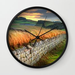 Hadrian's Wall Wall Clock