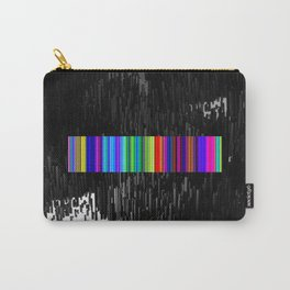 Colorful bar code Carry-All Pouch