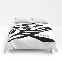 Symbol of Love Comforters