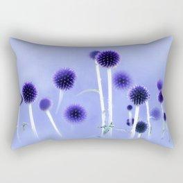 Spheres Of Blue Rectangular Pillow