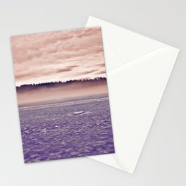 Frozen Mirror Lake Stationery Cards