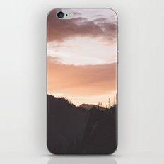 Mountain sunset iPhone & iPod Skin