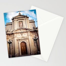 Mdina Cathedral in Matla Stationery Cards