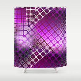 Place 2B Pattern (Berry Much) Shower Curtain