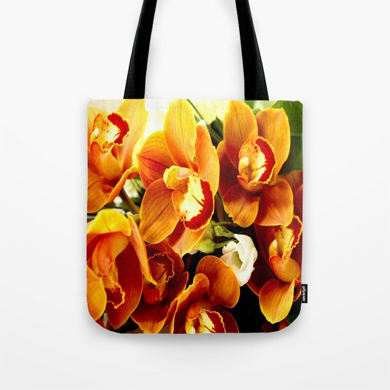 Orchid Corsage Tote Bag