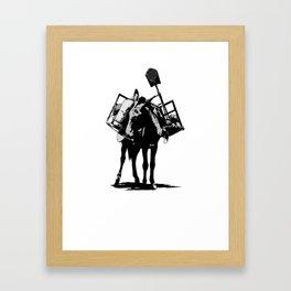 Spadecaller Framed Art Print