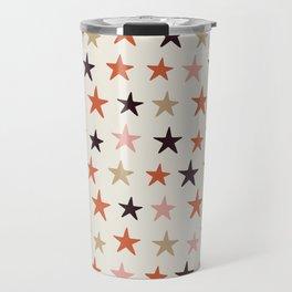 Star Pattern Color Travel Mug