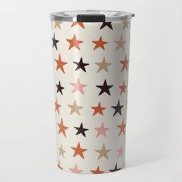 Star Pattern Color Travel Mug