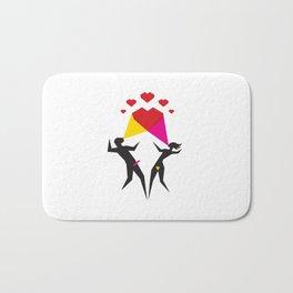 Happy Love Bath Mat