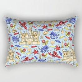 Battle of Ocean's Deep Rectangular Pillow