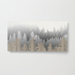 Treescape Large Metal Print