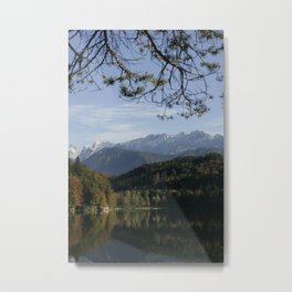 Hechtsee in the Brandenberger Alps, Tirol, color photo Metal Print