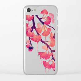 O Ginkgo Clear iPhone Case