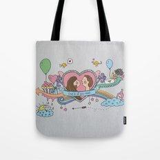 Valentine's Doodle Tote Bag
