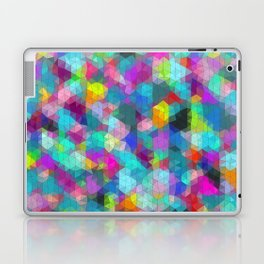 tiny triangles Laptop & iPad Skin
