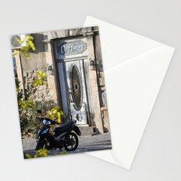 Door in port of Aegina 2 Stationery Cards