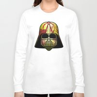 borderlands Long Sleeve T-shirts featuring The Borderlands of the Darth Side by Cranial Matter