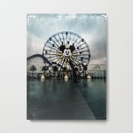 Farris wheel California Adventures By Topher Adam 2017 Metal Print