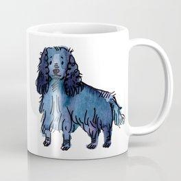 Blueberry - Dog Watercolour Coffee Mug